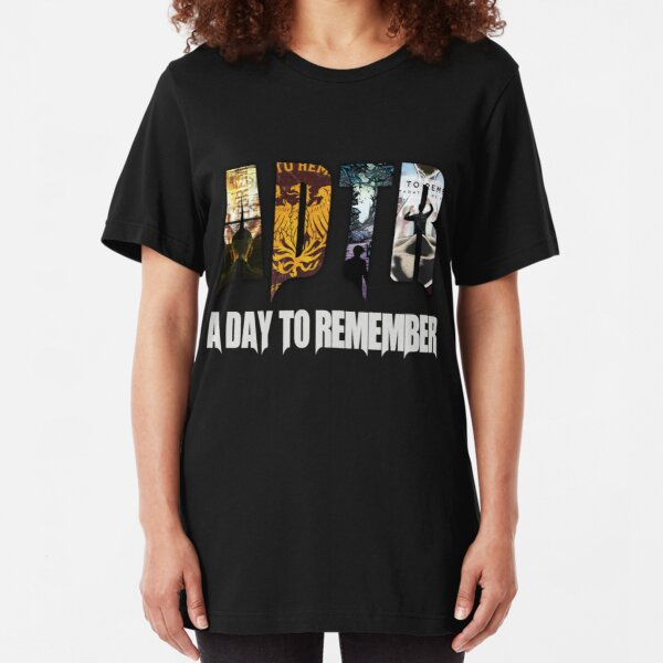 A Day To Remember  Slim Fit T-Shirt
