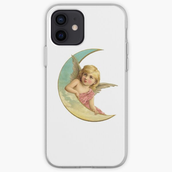 Angel on the Moon iPhone Soft Case
