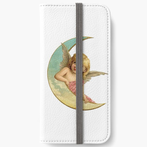 Angel on the Moon iPhone Wallet