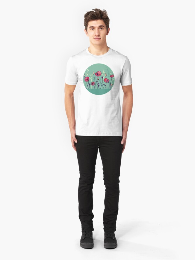 Alternate view of Summer Field Slim Fit T-Shirt