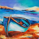The Blue Boat by Elise Palmigiani