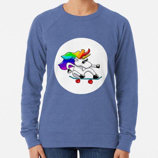 Unicorn Skate Lightweight Sweatshirt
