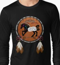 Horse n Arrows Long Sleeve T-Shirt