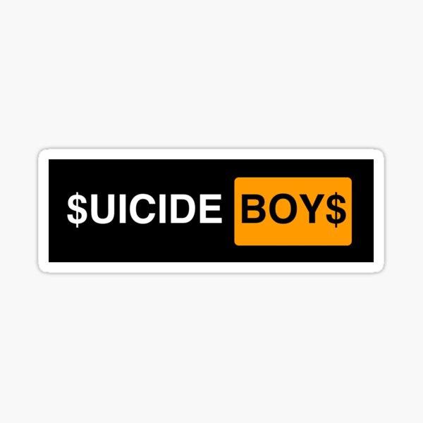 $uicide boys$ logo  Sticker