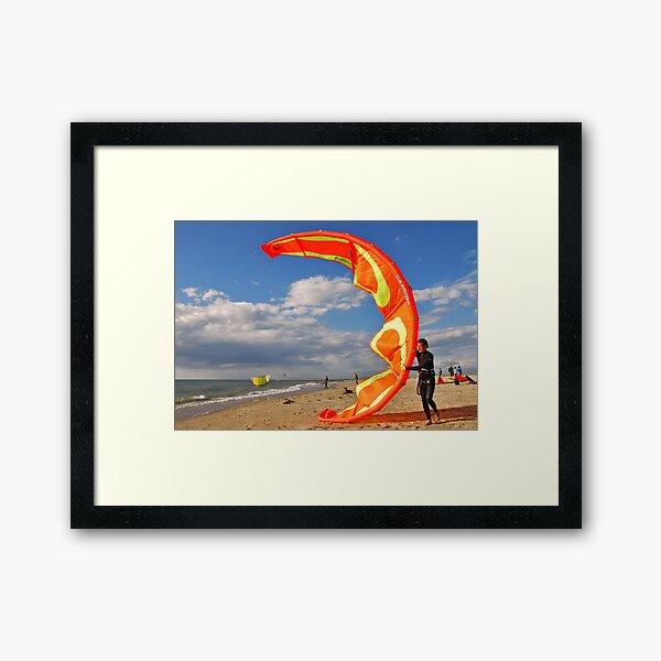 1, 2, 3 and.... go....!! Framed Art Print