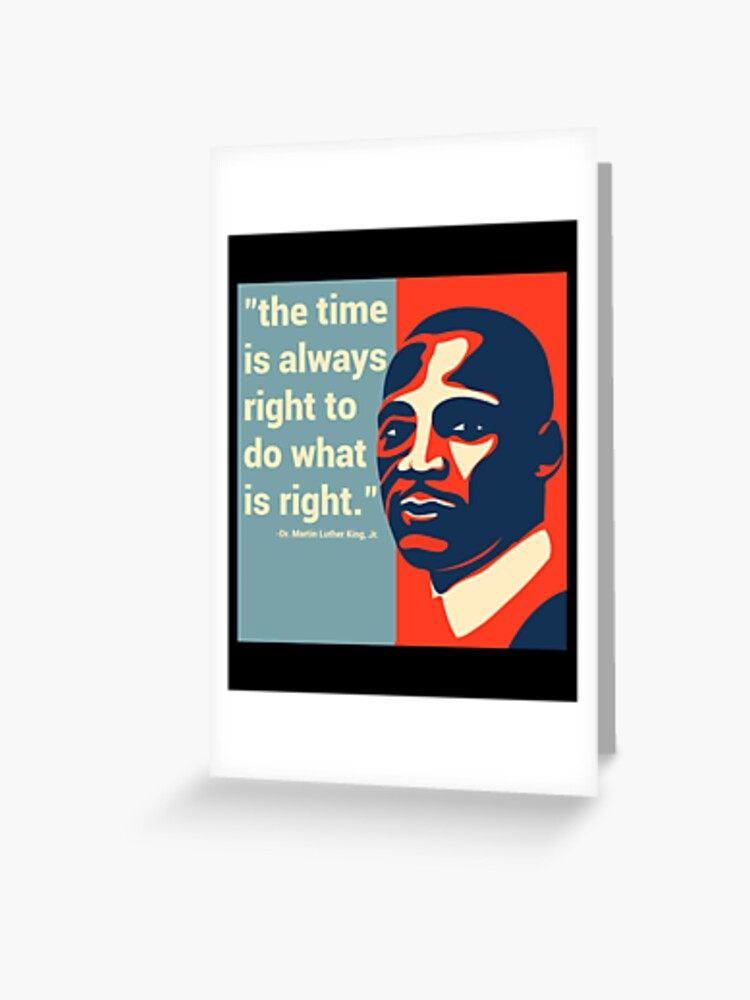 MLK T-Shirt D Martin Luther King Jr Civil Rights Protest