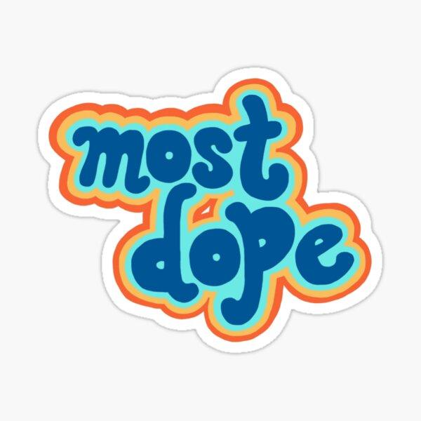 retro mac miller – most dope Sticker