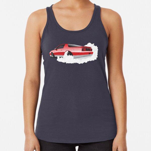 AMAOA7 Girl Pontiac Trans Am Firebird 3D Print Sleeveless T Shirt Tank Top