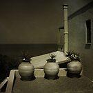 Greek Pots by Doug Cook