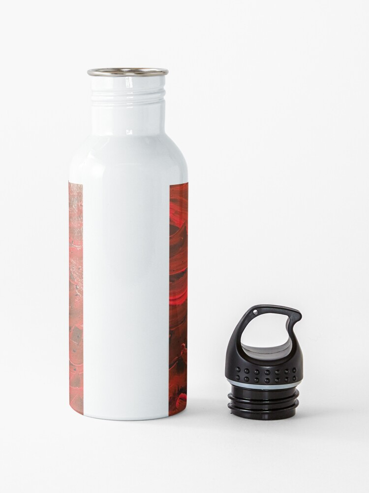 Alternate view of Red Hot Waves Water Bottle