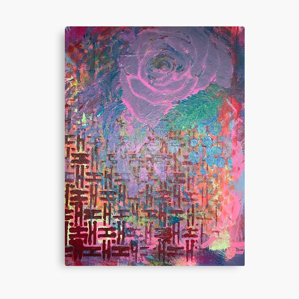 I Bloom in Stormy Weather  Canvas Print