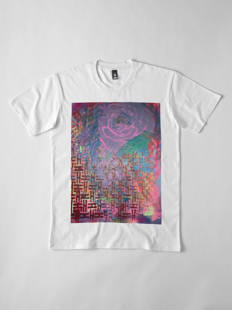 Alternate view of I Bloom in Stormy Weather  Premium T-Shirt