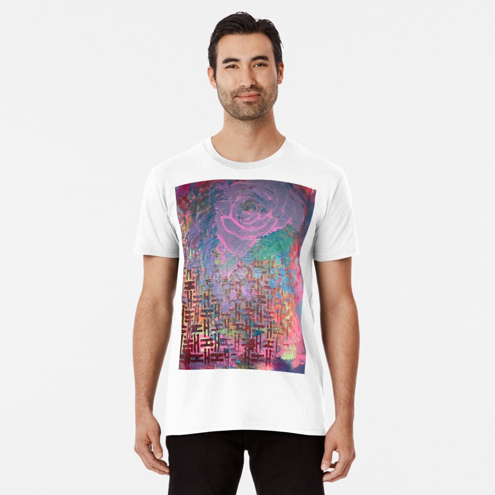 I Bloom in Stormy Weather  Premium T-Shirt