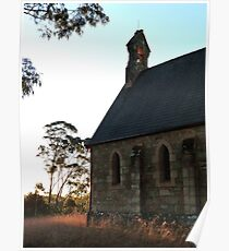Anglican Church, Bungonia, NSW Poster