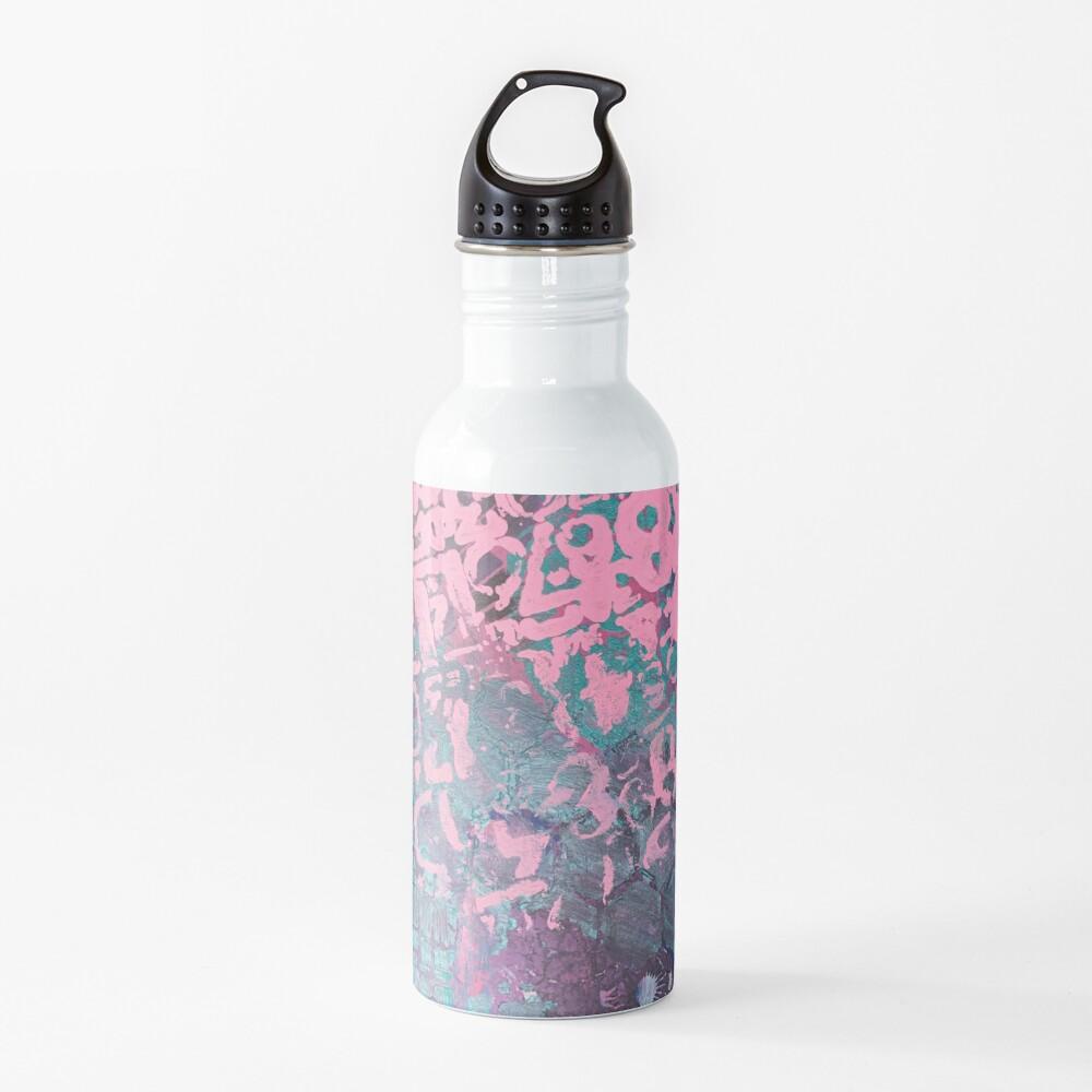 Grungy Pink Princess   Water Bottle