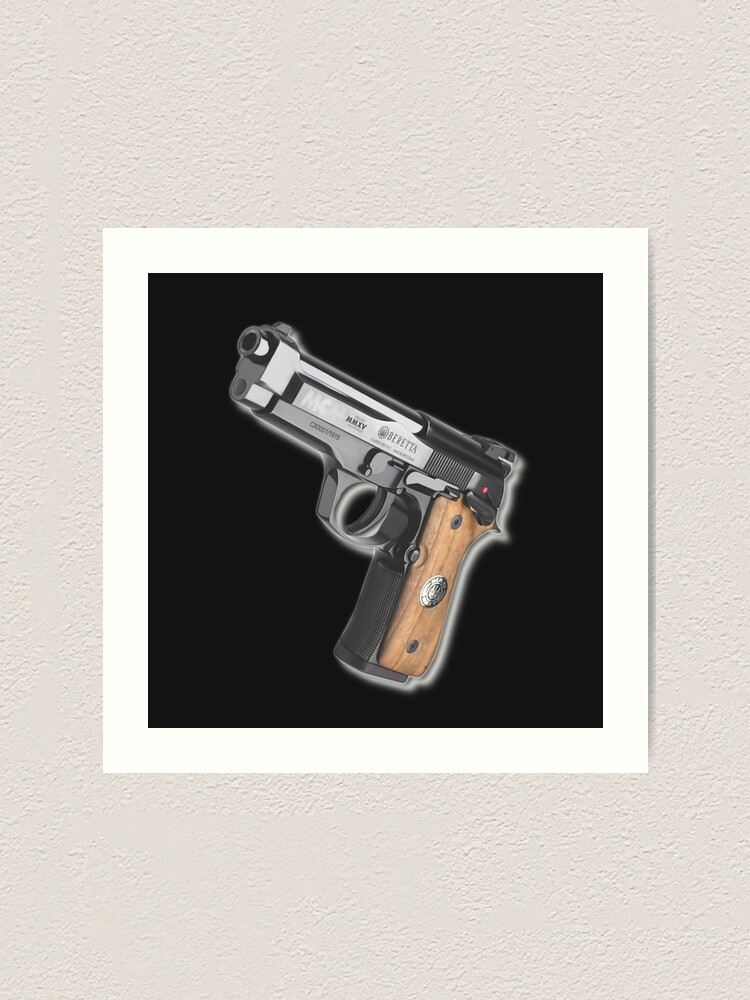 GLOCK 17 SEMI AUTOMATIC GUN PISTOL POSTER WEAPON ART WALL LARGE