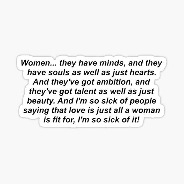 Little Women (2019) Sticker