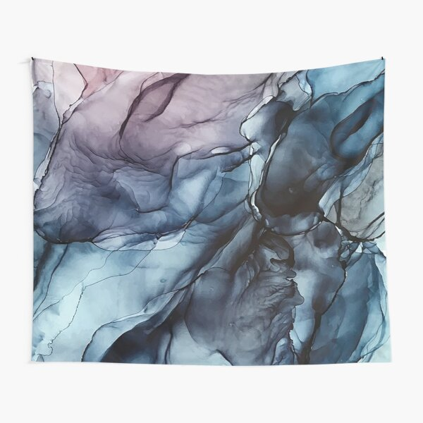Blush and Darkness Water Tapestry