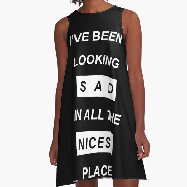 Quotes A-Line Dress