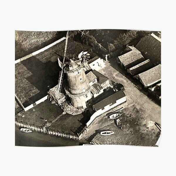 Cley Windmill 1880 Poster
