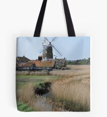 Cley Windmill and the River Glaven Tote Bag