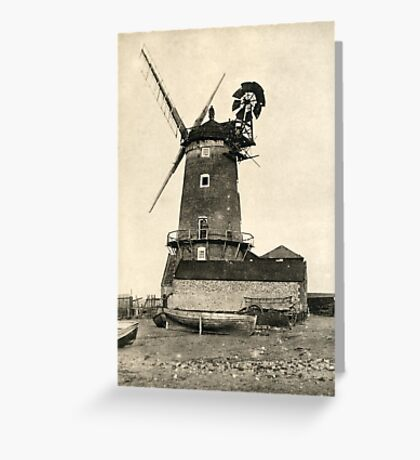 Cley Windmill 1880s Greeting Card