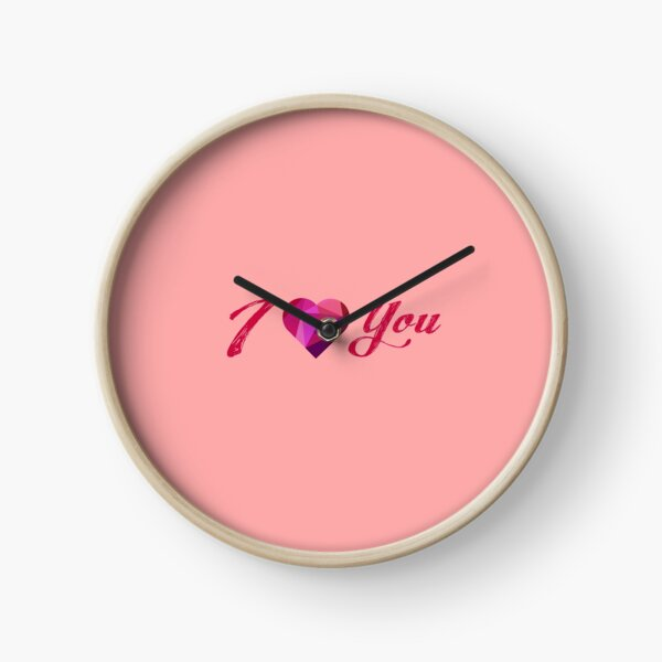 Love is in the Air Clock