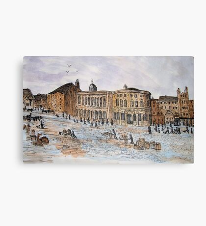 Guildhall and Quayside Canvas Print