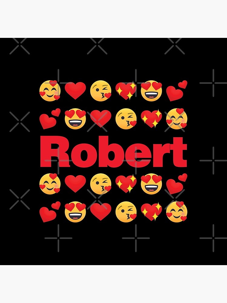 Robert Emoji My Love for Valentines day by el-patron