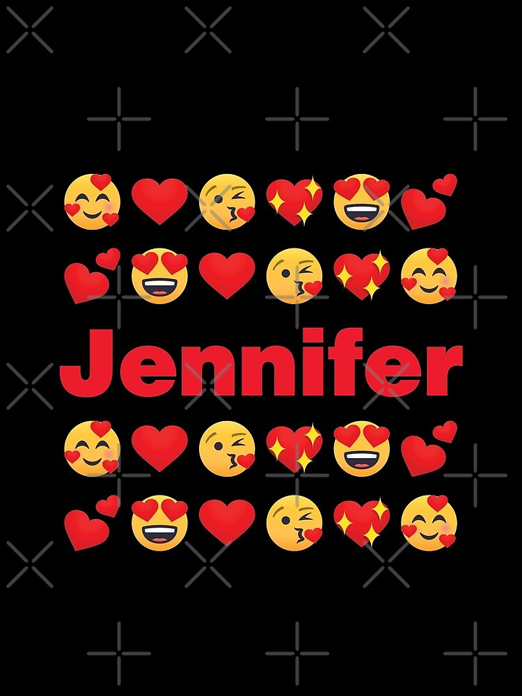 Jennifer Emoji My Love for Valentines day by el-patron