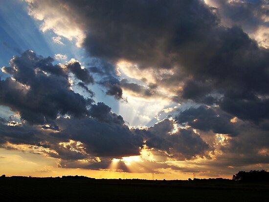 Heavenly Rays by Greg Belfrage