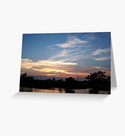 Tranquil Shores Greeting Card