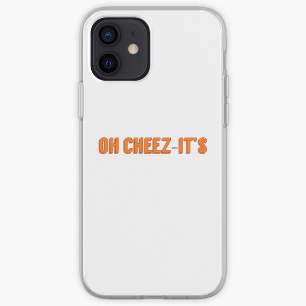 Oh Cheez-it's iPhone Soft Case