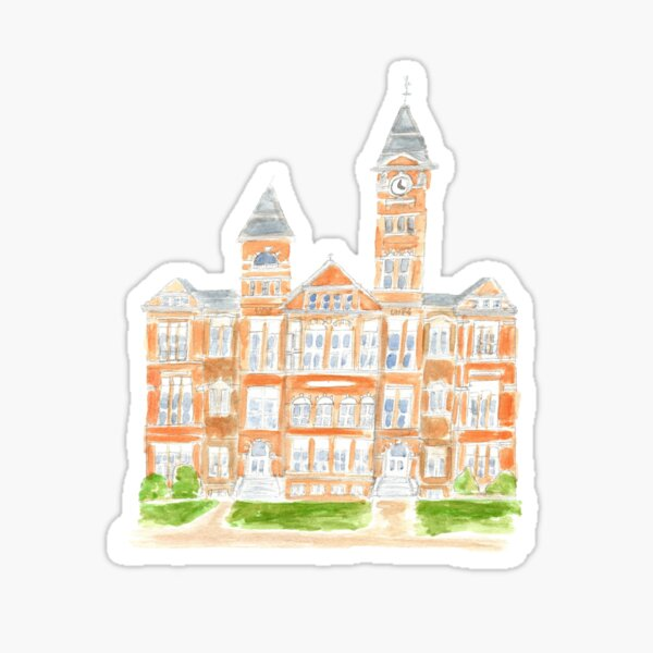 samford hall Sticker