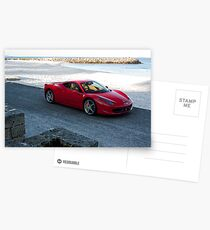 Ferrari 458 Italia Postcards