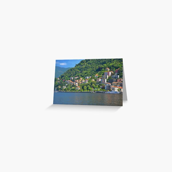 The Villas at Como Greeting Card
