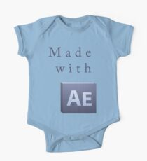 Made With After Effects One Piece - Short Sleeve