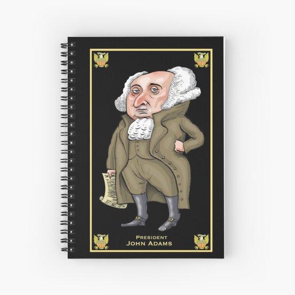 President John Adams Spiral Notebook
