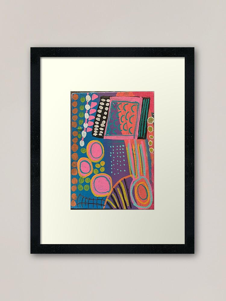 Alternate view of What I Think About After I Say Something  Framed Art Print