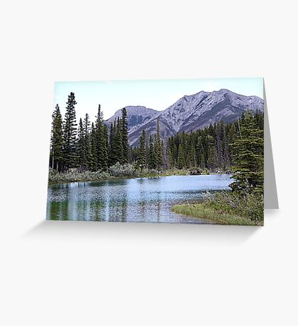 The Wedge & Wedge Pond Below Greeting Card