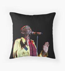 Jimmy Cliff Throw Pillow