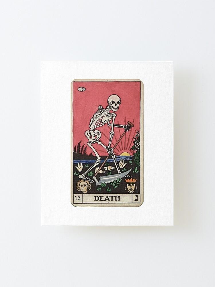 Alternate view of Death Tarot Mounted Print
