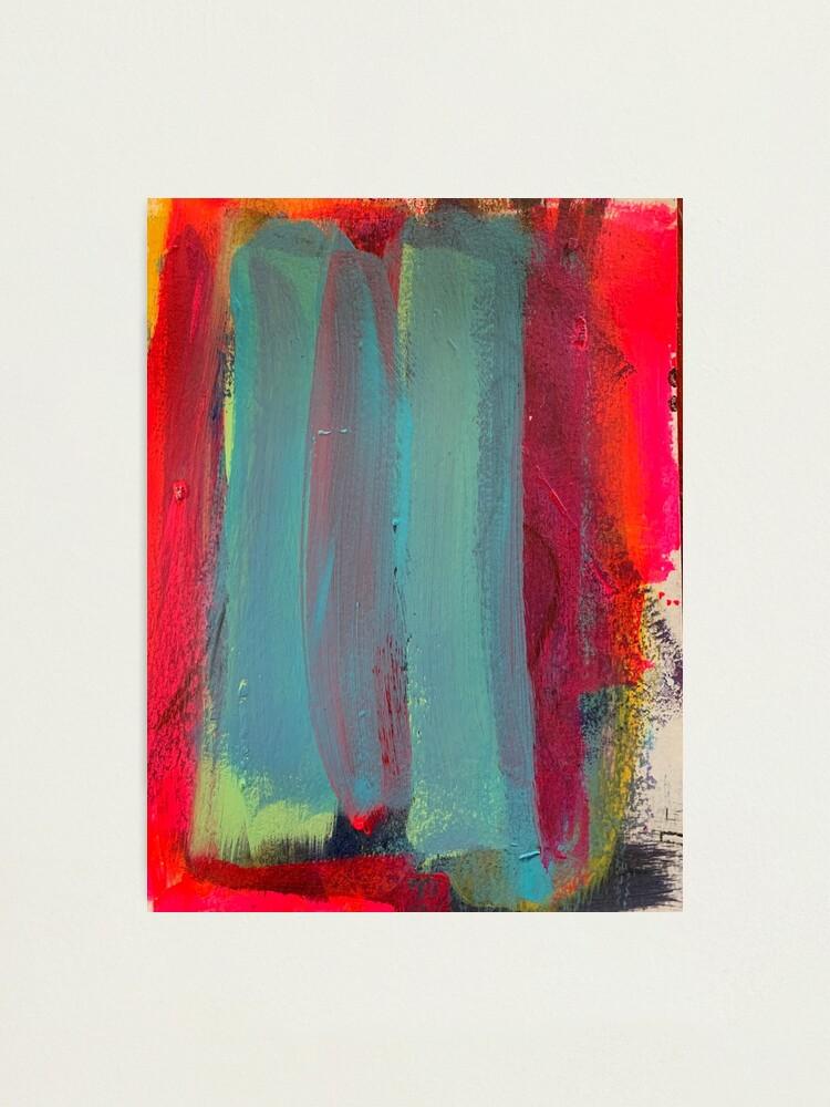 Alternate view of Neon Stripes  Photographic Print