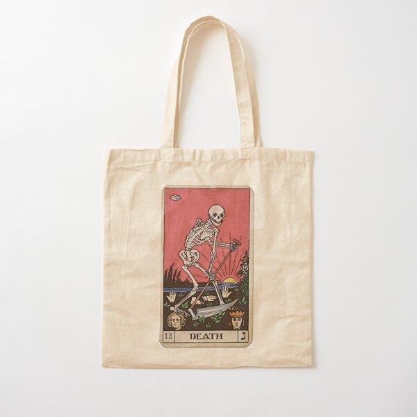Death Tarot Cotton Tote Bag