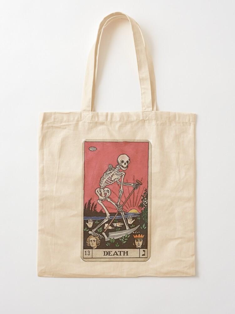 Alternate view of Death Tarot Tote Bag