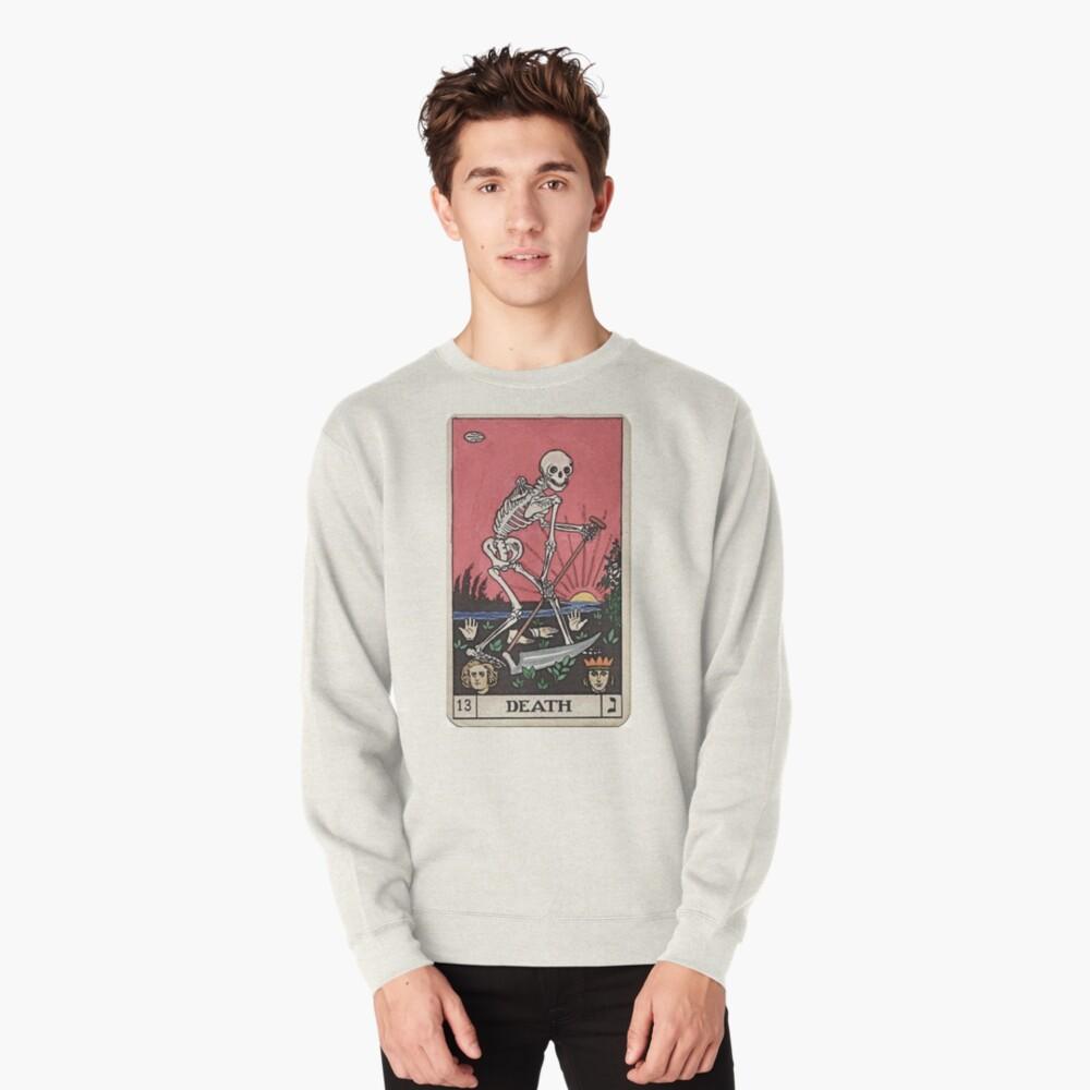 Death Tarot Pullover Sweatshirt