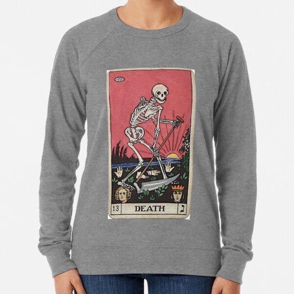 Death Tarot Lightweight Sweatshirt