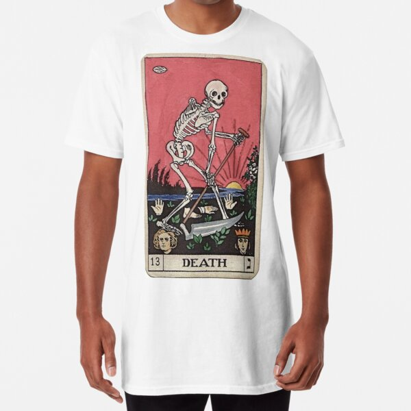 Death Tarot Long T-Shirt