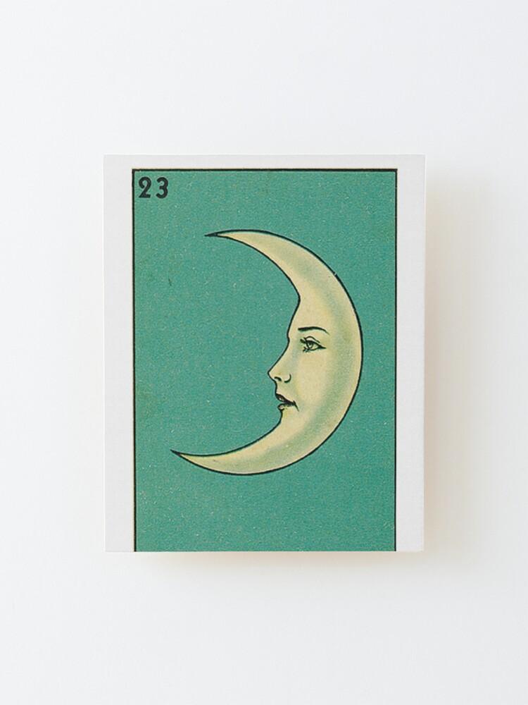 Alternate view of Luna Tarot Mounted Print