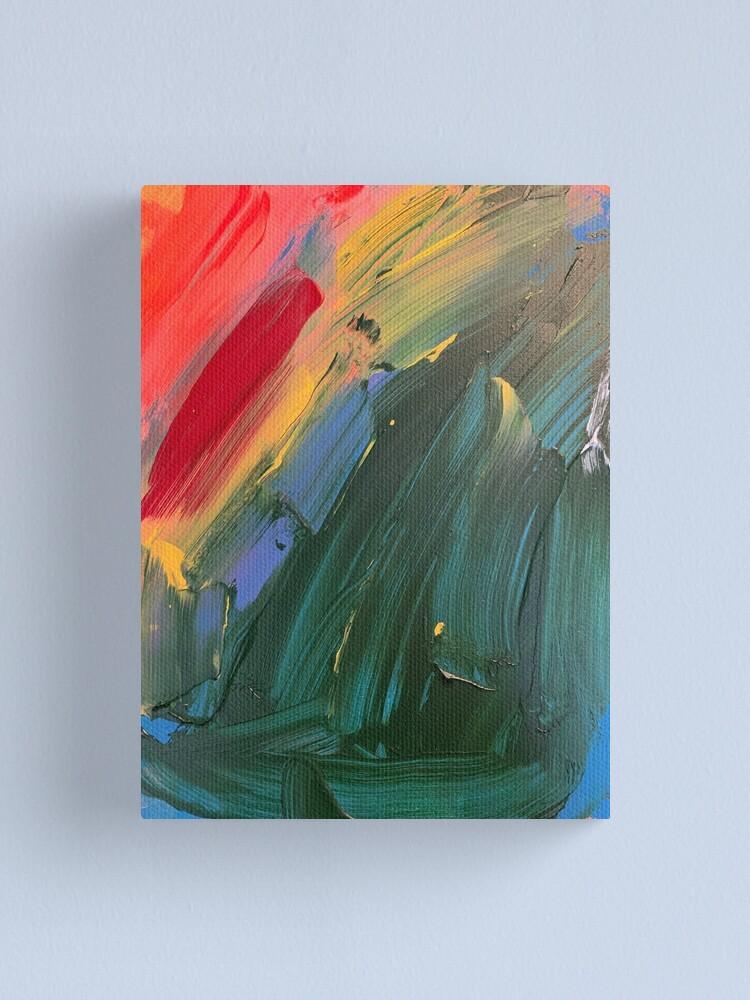 Alternate view of Rainbow junk mail  Canvas Print
